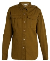 Etoile Isabel Marant Obrain cotton-gabardine military shirt