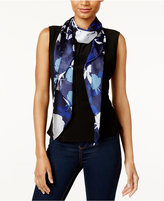 Vince Camuto Shadow Blooms Oblong Scarf