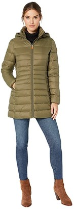 Save The Duck Giga 9 Puffer Coat with Removable Hoodie