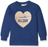 Name It Baby Girls' Nitvalbafe Ls Bru Swe Mini Sweatshirt
