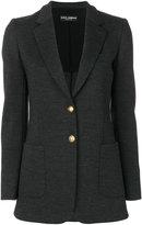 Dolce & Gabbana gold button blazer