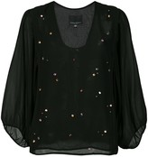 Cynthia Rowley Inverness jewel top