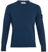 Stone Island Wool-blend Knit Sweater