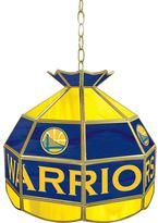 """Golden State Warriors 16"""" Tiffany-Style Lamp"""