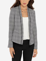 The Limited Piped Houndstooth Blazer