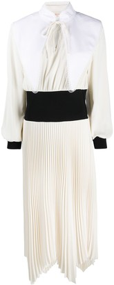 Tory Burch Contrast Panel Dress