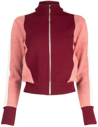 Stella McCartney Colour Block Zipped Track Jacket