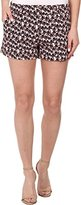 Trina Turk Women's Corbin 3 Mini Palm Twill Short