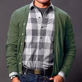 Blade + Blue Olive Green Cardigan Sweater
