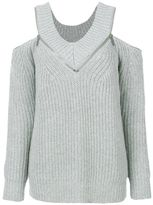 MICHAEL Michael Kors Pullover With Open Shoulders