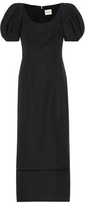 KHAITE Allison cotton dress