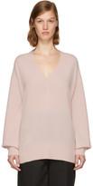Rag & Bone Pink Cashmere Ace Sweater