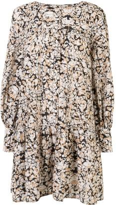 Sea Borealis Batik tunic dress