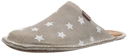 Living Kitzbühel Womens Pantoffel Flex Sterne Unlined slippers Brown Braun (260 hellbraun) Size: 4