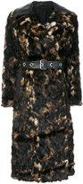 Helmut Lang Tortoise Fur Coat