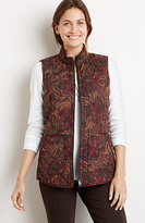 J. Jill Heritage Quilted Paisley Vest