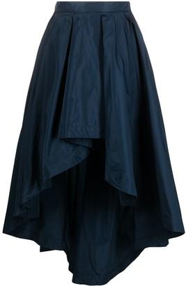 Pinko High Low Full Skirt