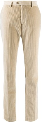 Etro Ribbed Flared Trousers