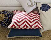 Zigzag Silk Twill Pillows