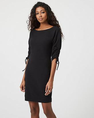 Le Château Knit Dolman Sleeve Tunic Dress