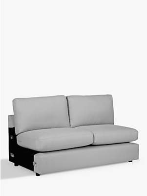 House by John Lewis Oliver Modular Large 3 Seater Armless Sofa Unit