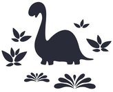 Wall Candy Arts Wallcandy Arts Chalkasaurus Chalkboard Decal by WallCandy Arts