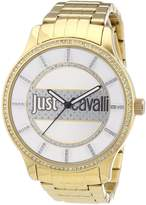Just Cavalli Women's Quartz Watch Huge R7253127504 with Metal Strap