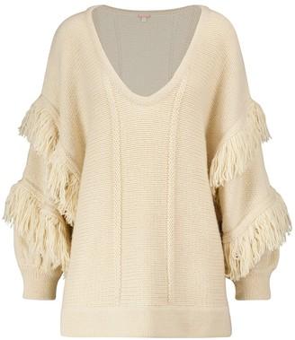 Johanna Ortiz The Message fringed sweater