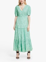 Somerset by Alice Temperley Floral Jacquard Maxi Dress, Mint