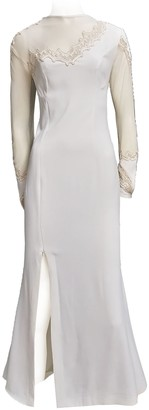 Non Signã© / Unsigned White Synthetic Dresses
