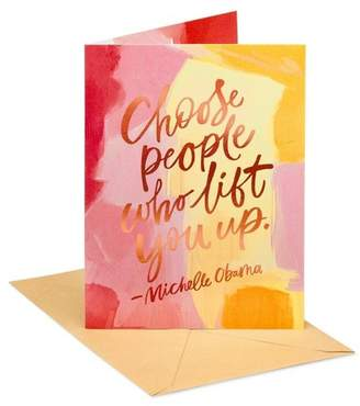 """Carlton Cards """"People Like You"""" Thinking of You Greeting Card"""