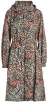 Jil Sander Navy Printed Coat