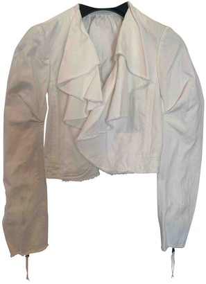 Louis Vuitton White Cotton Jackets