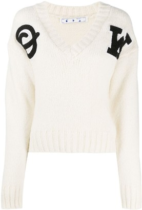 Off-White Logo Patch Jumper