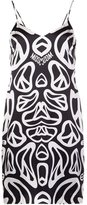 Moschino peace sign print dress - women - Silk - 38