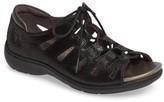 Aravon Women's Bromly Ghillie Sandal