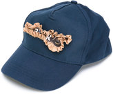 Bless ruffled detail cap
