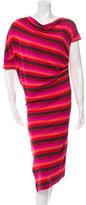 Vivienne Westwood Striped Midi Dress