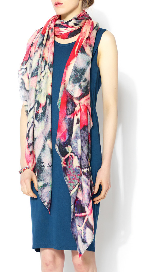 Lily & Lionel Rosa Scarf