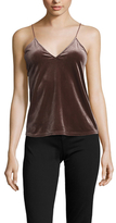 Lucca Couture Velvet V-Neck Top