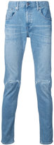 Monkey Time distressed skinny jeans - men - Cotton - S