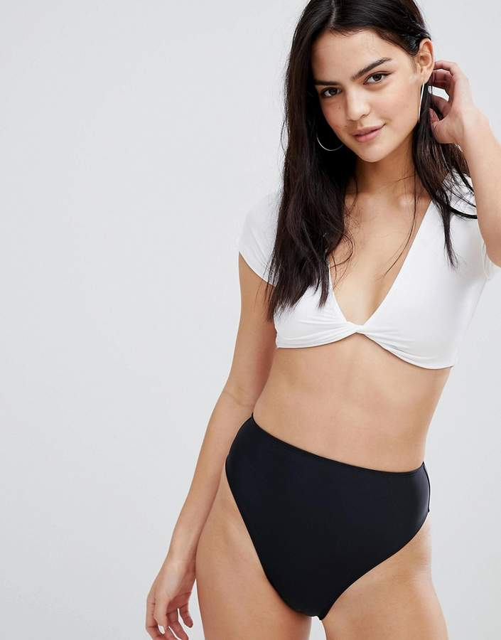 f39b008115092 Asos Black Swimsuits For Women - ShopStyle Canada