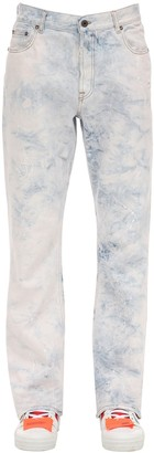 Off-White Slim Cotton Denim Jeans