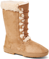 Tan Lace-Up Boot