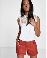 Express Linen-blend Short