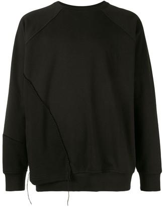 SONGZIO x Tim Burton Nightmare cutting sweatshirt