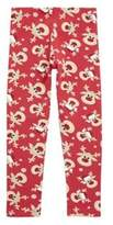 F&F Reindeer Print Christmas Leggings