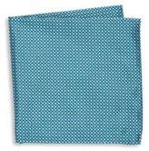Armani Collezioni Herringbone Woven Silk Pocket Square