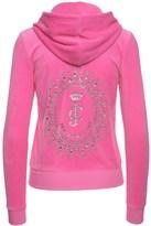 Juicy Couture Logo Velour Starburst Cameo Robertson Jacket