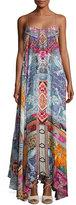 Camilla Embellished Crepe Full Maxi Dress, Sunday Best